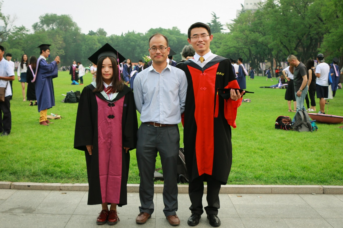 Congratulations to Mr. Wei Cao to get his PhD degree