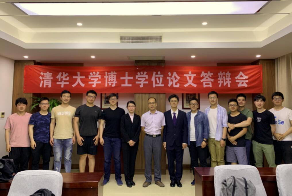 Ms. Lu Wang, Mr. Tianyu Li and Mr. Wentian Xiang passed their graduate dissertation defenses