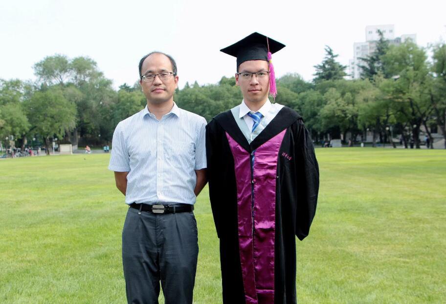 郑可毕业照