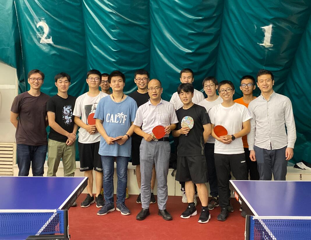 The 2nd Table Tennis Match of Xu's Group